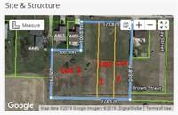 Online Real Estate Auction- 3 Building lots