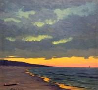 Frank Dudley, Lake Michigan