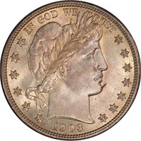 50C 1903-O PCGS MS67