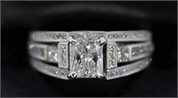 1 Ct  Diamond Ring Jewelry Sports Stamps Coins 12/19