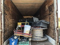 48' Trailer load from Antique Store