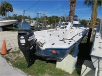 IN-WATER BOAT AUCTION CRYSTAL RIVER FL  - FRI MAR 22nd