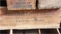 Vintage Advertising Wood Crates