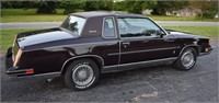 1987 Oldsmobile Cutlass Salon 2 Owner Car