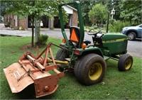 John Deere 670 Tractor Low Hours