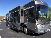 Custom Winnebago RV & Blue Bird Motor Coach Bus