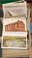 Shoebox full of Postcards