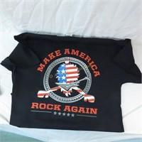 """Hairball swag bag 3 with """"Make America Rock"""" shirt"""