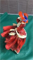 Royal Doulton Top of the Hill Lady Figurine