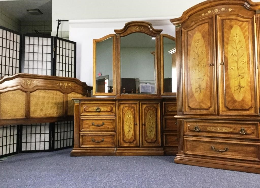 Stanley Furniture 3 Piece Bedroom Set, Stanley Furniture Bedroom Set