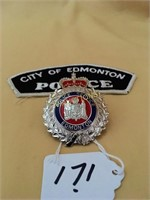 Police and Military Badges, Knives and Currency