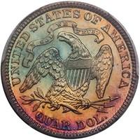 25C 1890 PCGS PR68 CAC