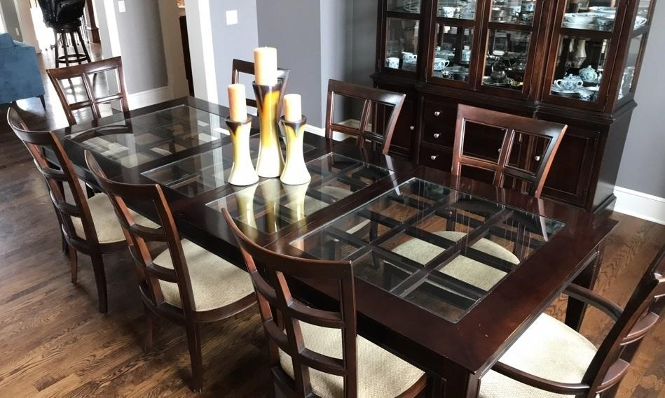 Contemporary Formal Dining Room Table, Modern Formal Dining Room Sets For 8