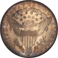 $1 1799 PCGS MS64+ CAC