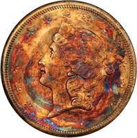 $20 1857-S PCGS MS67 CAC