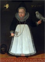 Art - Northern Dutch School C. 1601 Portrait