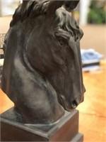 Set 2 New- Crestview Stallion Table Lamp