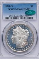 $1 1888-O PCGS MS66+ DMPL CAC