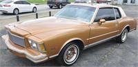 1978 Monte Carlo Vehicle Auction