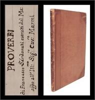 Sale 1010:  Rare Books & Manuscripts