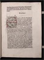 [Incunabula] Cyrillus.  Speculum Sapientiae. 1475