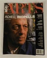 """La Vie des Arts No. 16 Printemps 2002, """"Adieu, Riopelle (1923-2002)"""""""