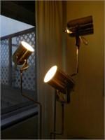 Mid-Century Modern floor lamp trio