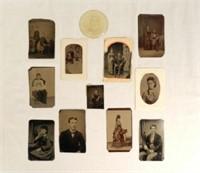 Tin-type photographia
