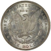 $1 1893 PCGS MS66 CAC CORONET COLLECTION
