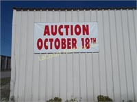 Auction Sign 1026 N. Broadway