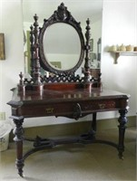 L.J. Forget's dressing table