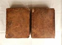 """""""La nouvelle maison rustique"""", 2 volumes, dated 1762"""
