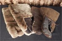 Pair of antique mittens