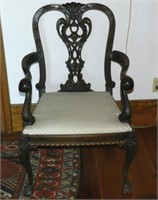 19th Century Chippendale style mahogany chair