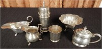 Several Sterling silver pieces