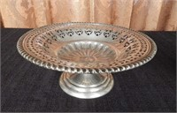 Footed Sterling dish, marked Birks Sterling