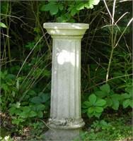 Garden plinth