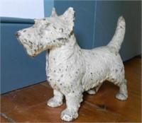 Cast iron door stop, Terrier