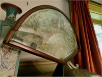 Early 19th Century continental fan