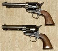 Rare Colt SAA Civilian Revolvers