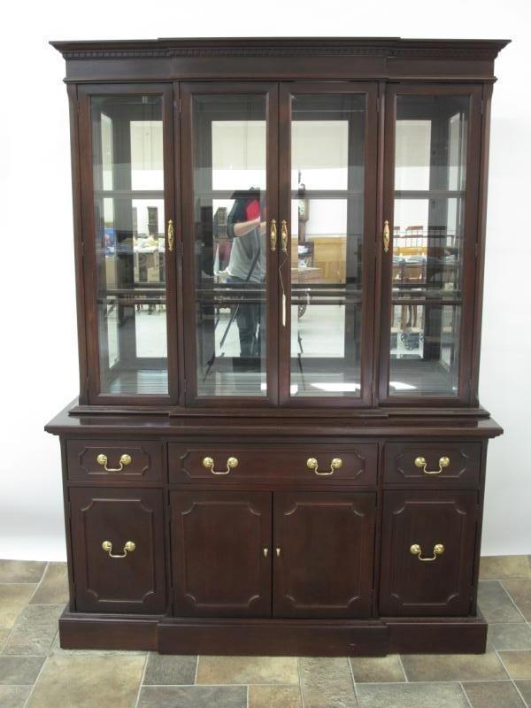 Gibbard Mahogany Dining Room Suite, Mahogany Dining Room Cabinet