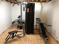 Online Only Commercial Quality Gym Equipment #833