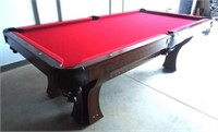 Online Auction- Brunswick-Balke-Collender Pool Table