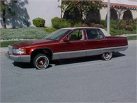 *Online Auction* - 1995 Cadillac Fleetwood ending 7/9/2012