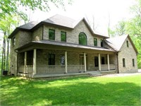 Custom Home on 3 AC site, with Finished Shop
