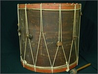 1817 Pittsfield, MA Drum by Abner Stevens