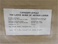ART - Arthur LISMER (1885-1969, Canadian)