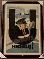 WW1 Poster Collection, Military,  and General Collectibles