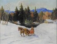 ART - Paul A. CARON ARCA (1874-1941)