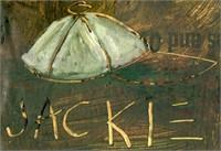 Jean-Michel Basquiat  (1960 - 1988) Oil